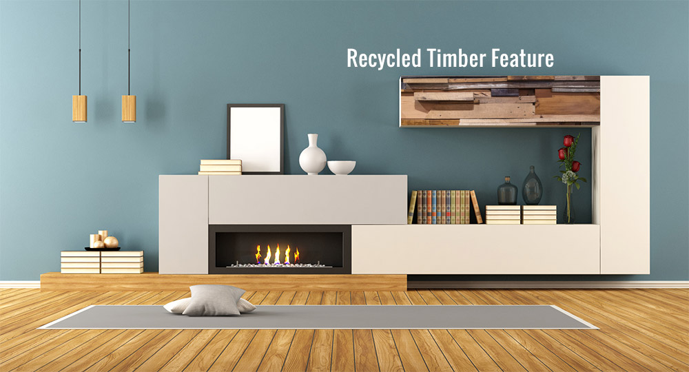 Recycled Timber Feature